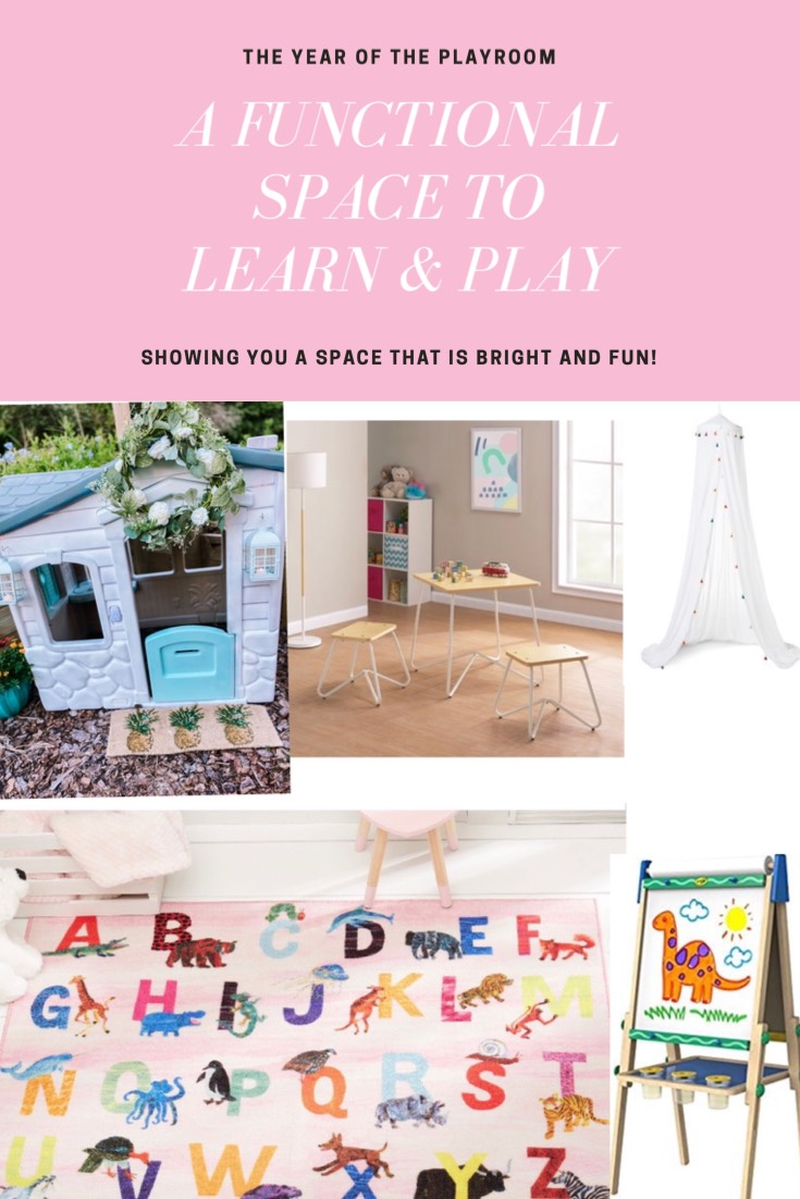 Pinterest Image - Playroom Makeover