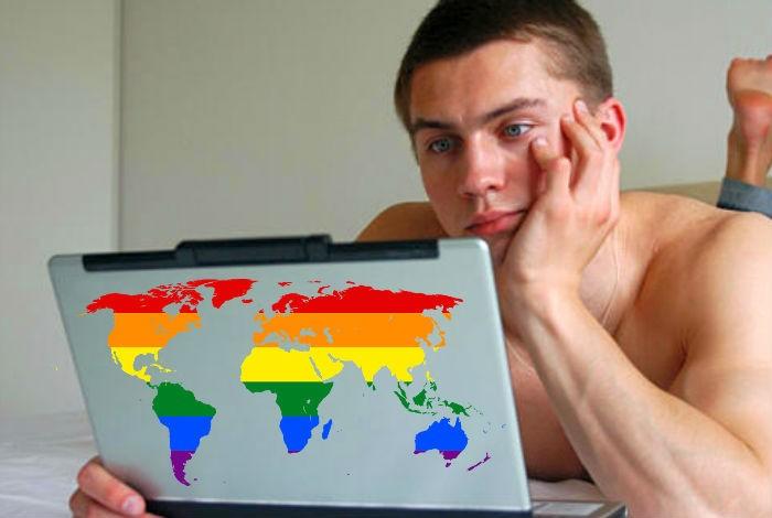 La pornografía gay sigue arrasando en Internet