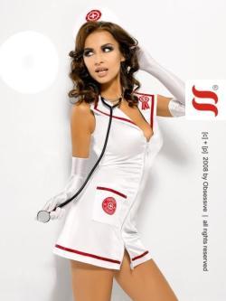 OBSESSIVE infermiera abitino cerniera