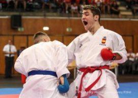 Pablo Arenas. vía WUC Karate 2016