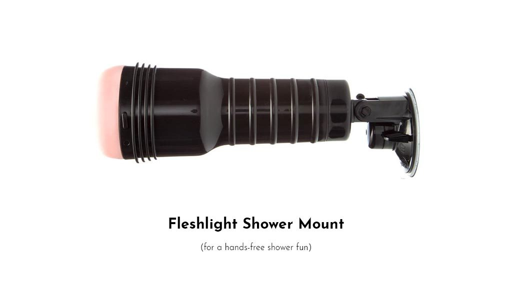 Hands-Free Fleshlight Shower Mount