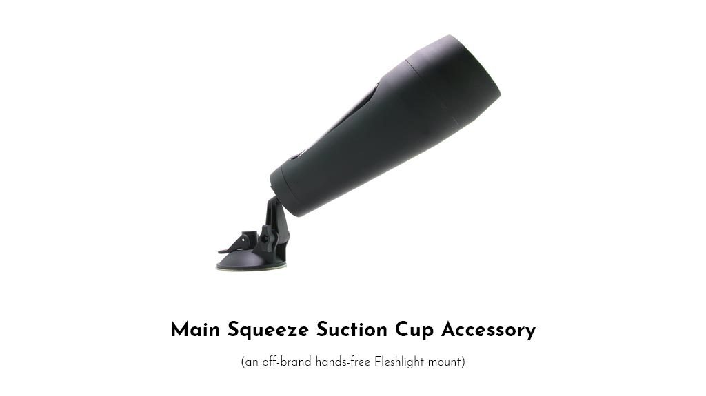 Off-Brand Hands-Free Fleshlight Mount