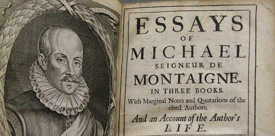 Resultado de imagen de Montaigne