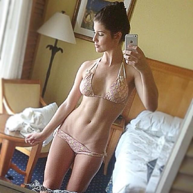 lingerie Amanda cerny in