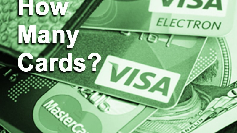 To Achieve Excellent Credit Score, How Many Credit Cards Should You Have?