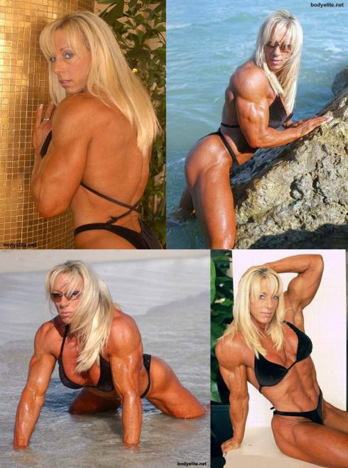 Female Bodybuilder Lora Ottenad Picture