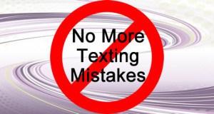 texting mistakes scrape