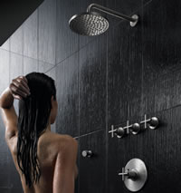 create an image of you in the shower