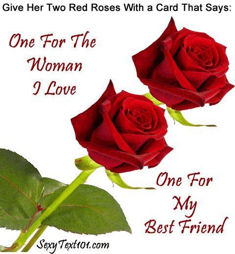 Romantic Idea 2 Roses
