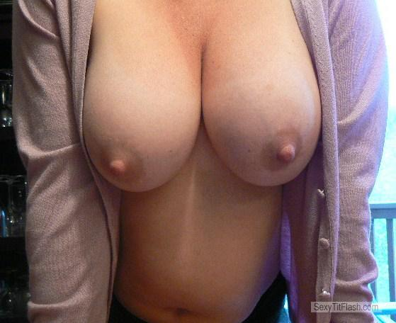 Look at wifes new boobs