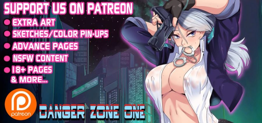 Danger Zone One Webcomic NSFW Art on Patreon