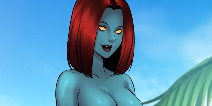 Infinity Crisis Island DC Marvel Fan Game Visual Novel Sexyverse Games Patreon