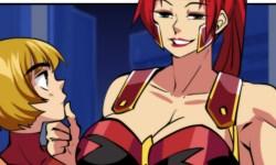 Justice Lust DC Fancomic on Sexyverse Comics Patreon
