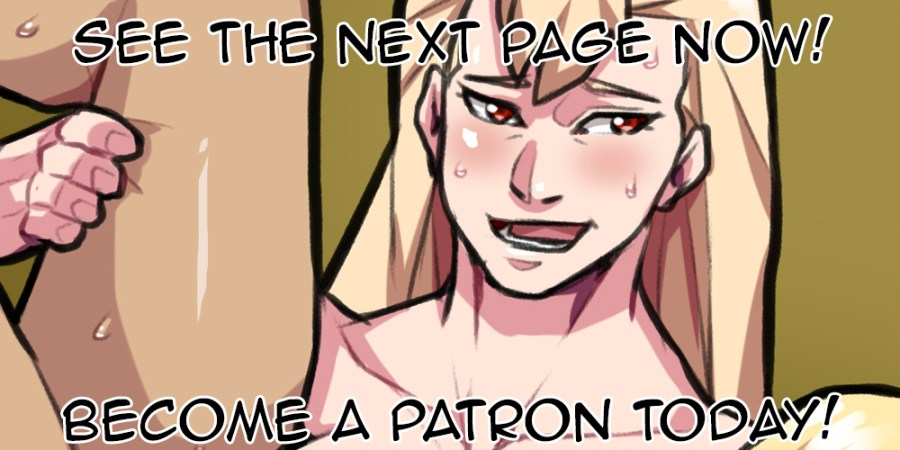 Preview of Housemating NSFW Comic on Patreon