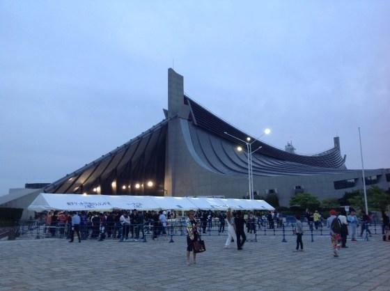 Yoyogi National Stadium-Kenzo Tange