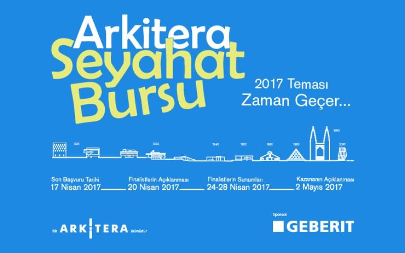 Arkitera Seyahat Bursu 2017'ye Başvurular Başladı…