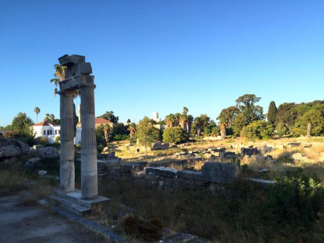 Antik Çağ'daki üç önemli Asklepion'dan biri de Kos Adası'nda bulunuyor