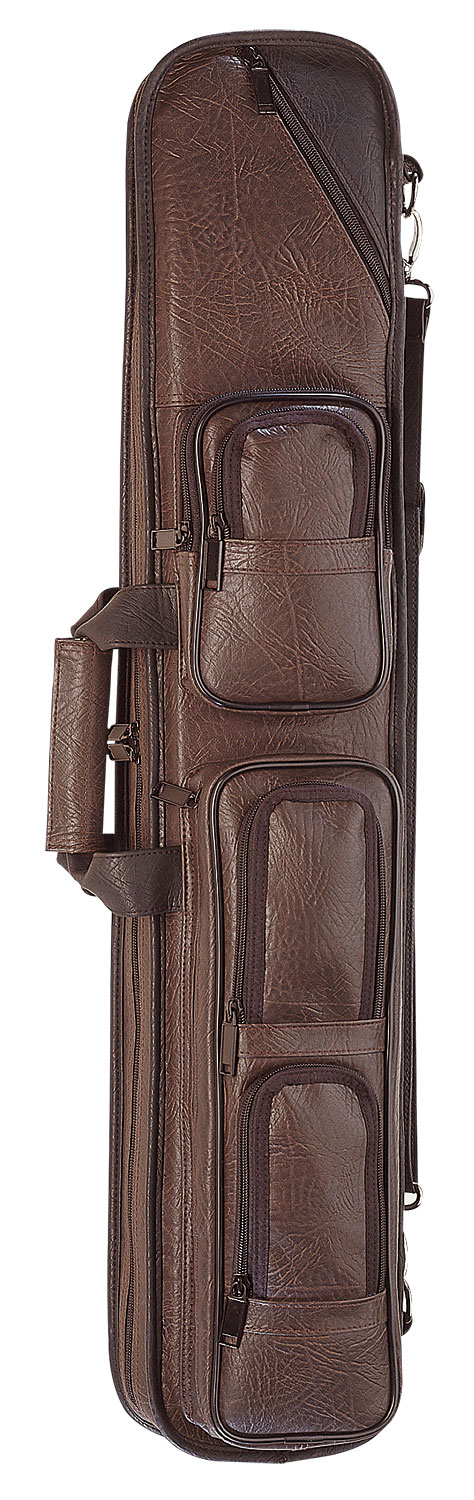 Lc 4x8 Soft Cue Case Brown Soft Cue Cases At Seyberts