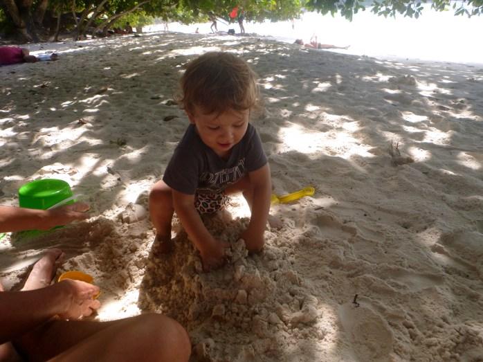 Sandcastles Anse Lazio