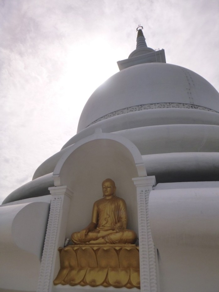 Unawatuna peace pagoda