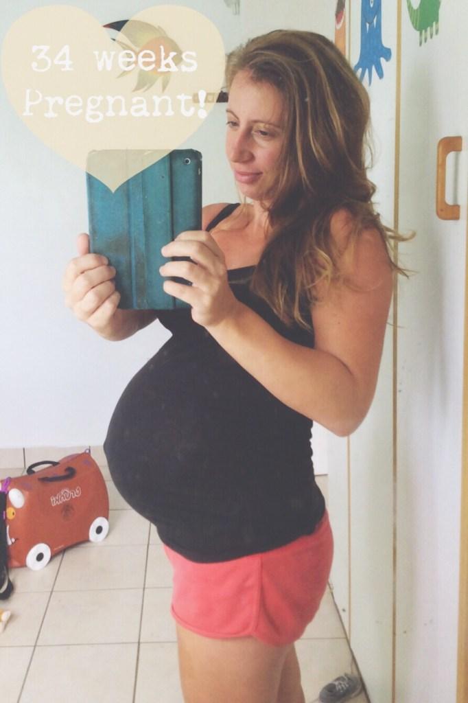 34 weeks pregnant
