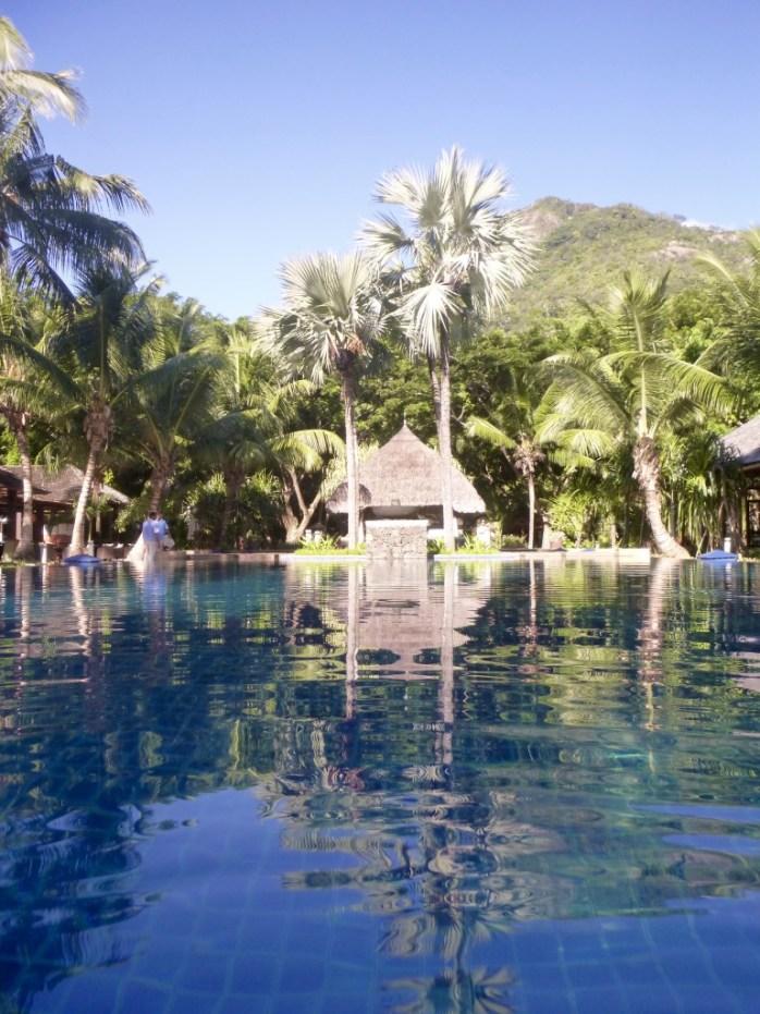 Swimming Pool Hilton Labriz Silhouette Island