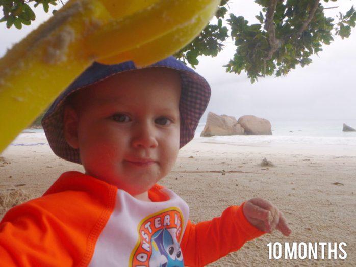 freddie is 10 months old