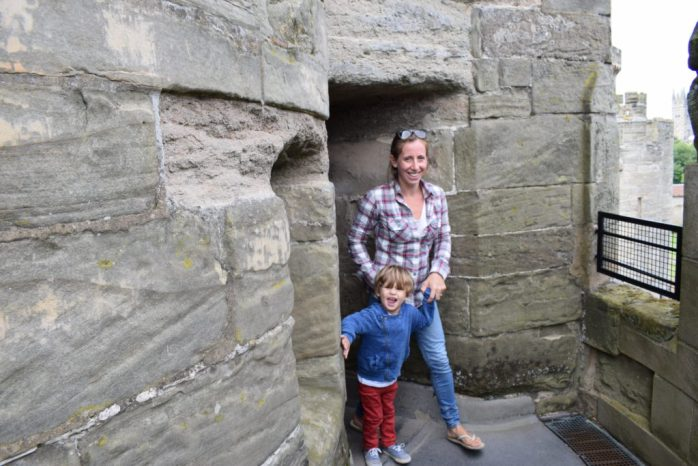 Visiting Warwick Castle With Young Kids