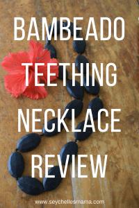 bambeado teething necklace review