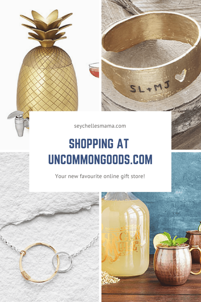 Shopping at UncommonGoods.com
