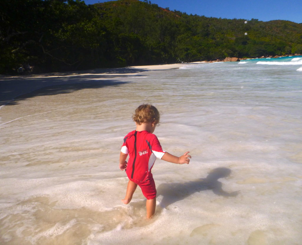 Packing for a tropical getaway - packing for a toddler