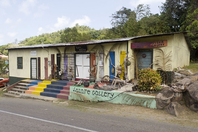 A 'treasure trove' waiting to be discovered: Seychelles artist and antique collector turns old, unused building into museum and souvenir gallery