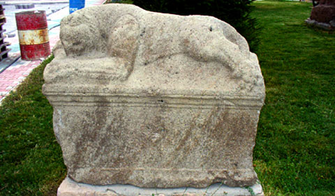 Amblada Antik Kenti Lahit Kapağı