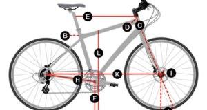 Bisiklet Kadro Boyu