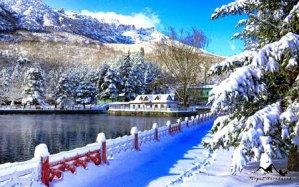 Seydişehir Kuğulu Park Kış