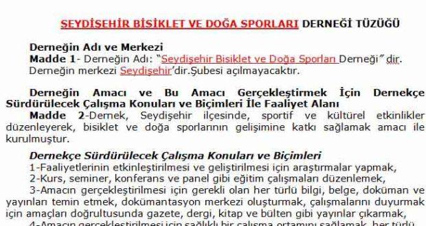 Seydişehir Bisiklet ve Doğa Sporları Derneği