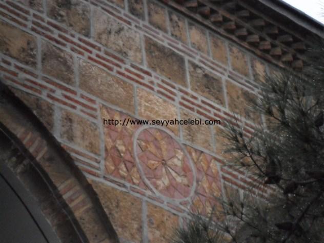 Gazi Orhan Cami Duvar Süslemeleri