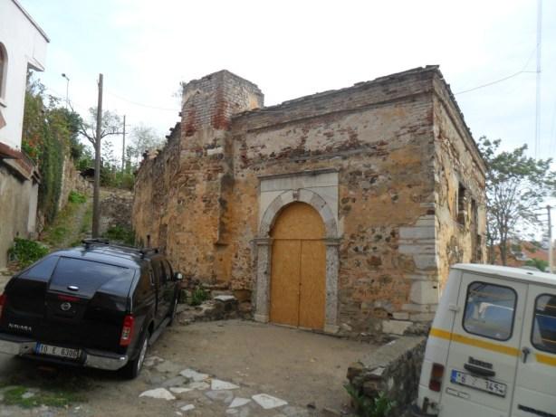 Kumyaka Baş Melekler Kilisesi Giriş Kapısı