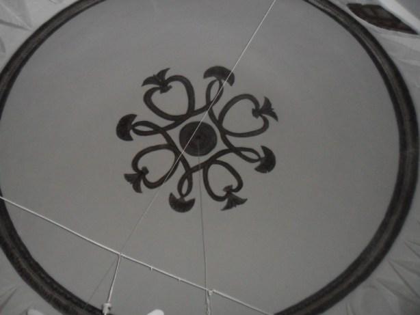 Veziri Cami Tavan Süslemeleri