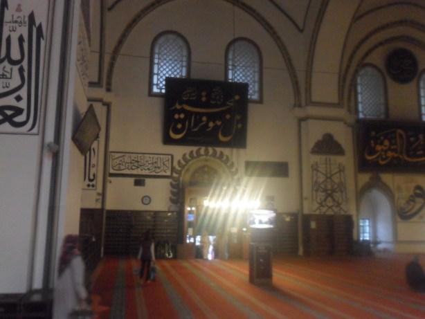 Bursa Ulu Cami Hat Örnekleri