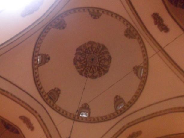 Bursa Ulu Cami Kubbe Tavan Süslemeleri