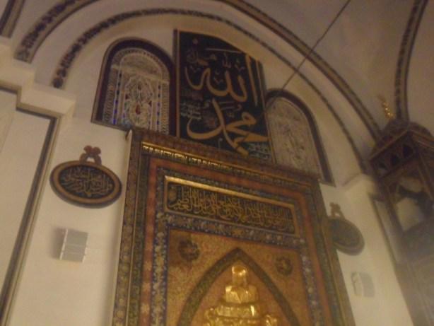 Bursa Ulu Cami Mihrap Süslemeleri