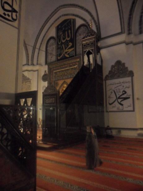 Bursa Ulu Cami Minber
