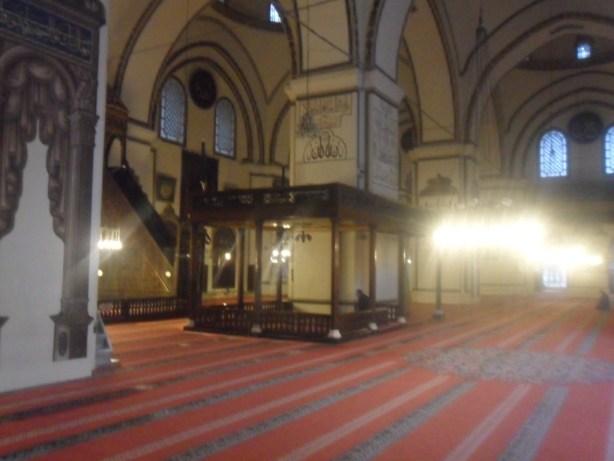 Bursa Ulu Cami Özel Bölümler