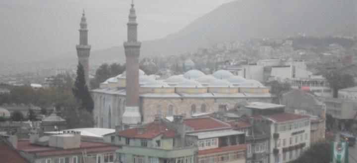 Bursa Ulu Cami Uzaktan Çapraz