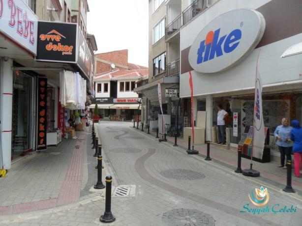İnegöl Çarşı Sokakları