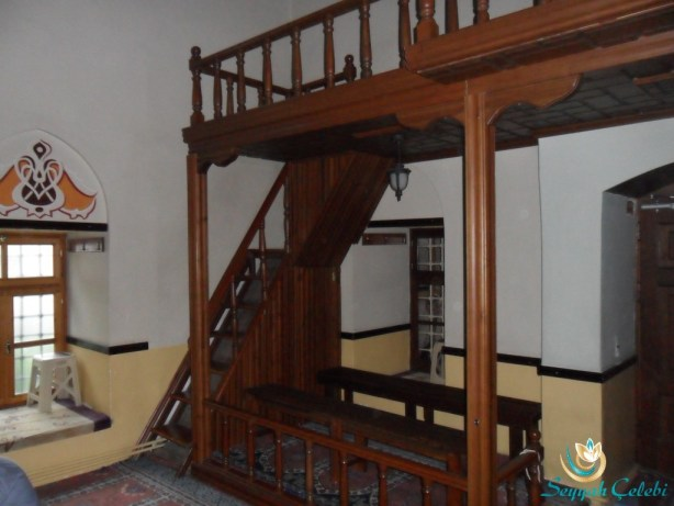 Nalbantoğlu Cami Ahşap Merdiven