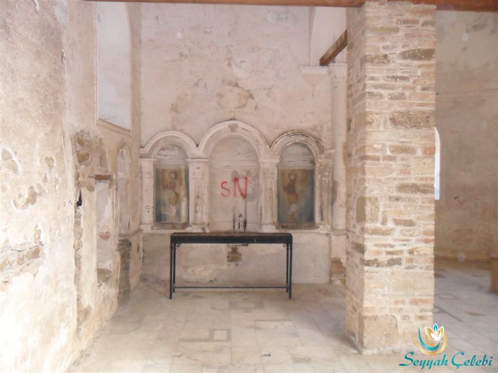 Şirince St. Jean John Baptist Kilisesi Freskleri
