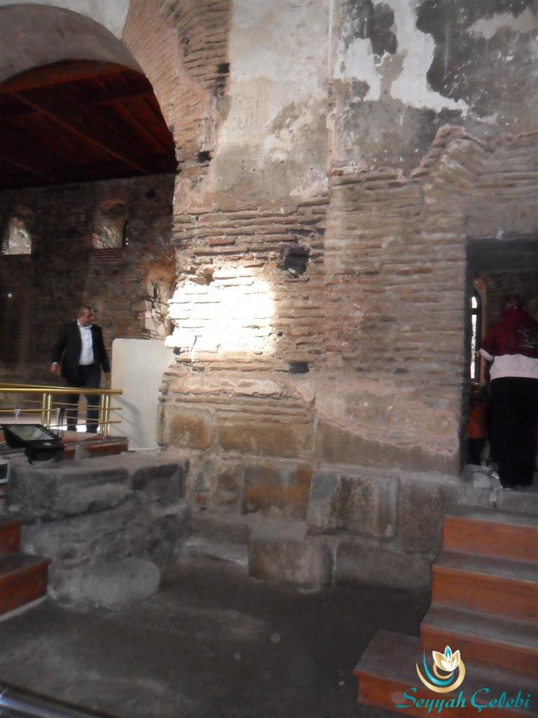 İznik Ayasofya Orhan Camii Mimar Sinan Ses İletim Oyukları