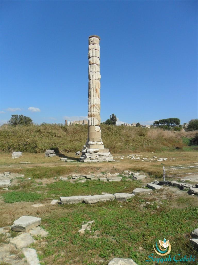 Artemis Tapınak Sütun Resmi